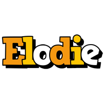 Elodie cartoon logo
