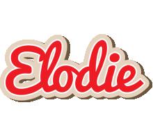 Elodie chocolate logo