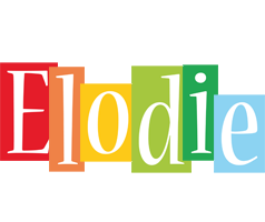 Elodie colors logo