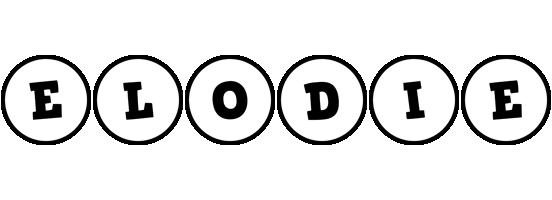 Elodie handy logo