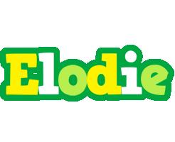 Elodie soccer logo