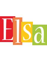 Elsa colors logo
