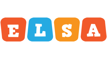 Elsa comics logo