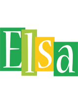 Elsa lemonade logo