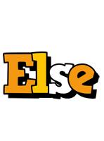 Else cartoon logo