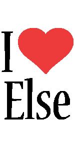 Else i-love logo