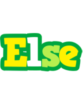 Else soccer logo