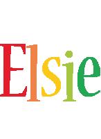 Elsie birthday logo