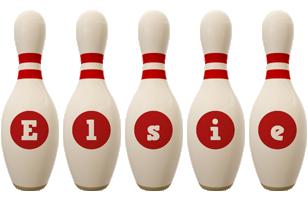 Elsie bowling-pin logo