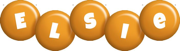 Elsie candy-orange logo