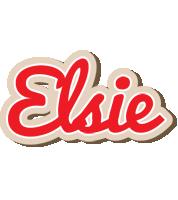 Elsie chocolate logo