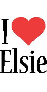 Elsie i-love logo