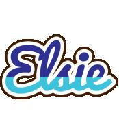Elsie raining logo
