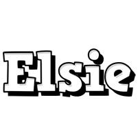 Elsie snowing logo