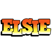 Elsie sunset logo