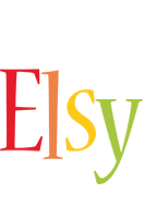 Elsy birthday logo