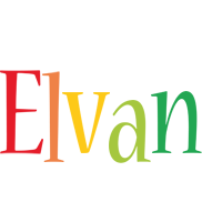 Elvan birthday logo