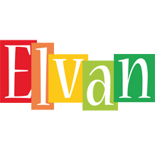 Elvan colors logo