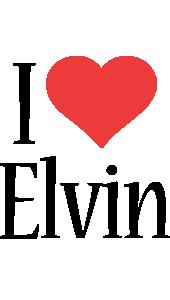 Elvin i-love logo