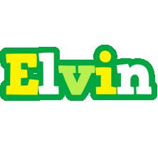 Elvin soccer logo