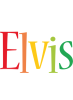 Elvis birthday logo