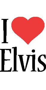 Elvis i-love logo
