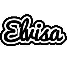 Elvisa chess logo