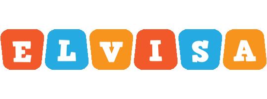 Elvisa comics logo
