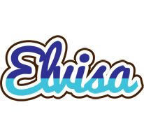 Elvisa raining logo
