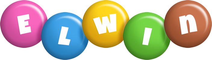 Elwin candy logo
