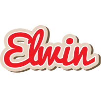 Elwin chocolate logo
