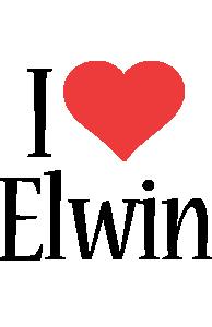 Elwin i-love logo