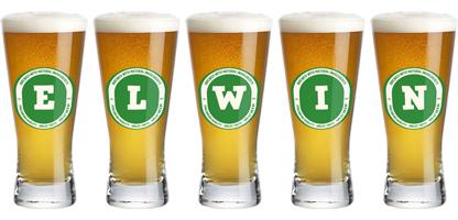 Elwin lager logo