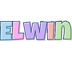 Elwin pastel logo