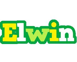 Elwin soccer logo