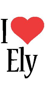 Ely i-love logo