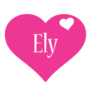 Ely love-heart logo