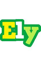 Ely soccer logo