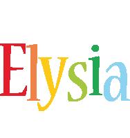 Elysia birthday logo