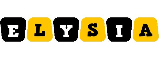 Elysia boots logo