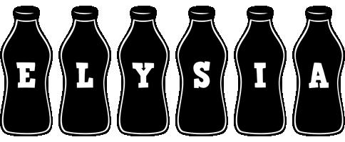 Elysia bottle logo