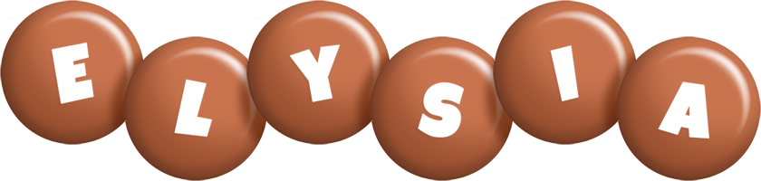 Elysia candy-brown logo