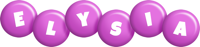 Elysia candy-purple logo