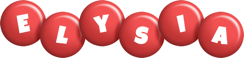 Elysia candy-red logo