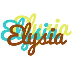 Elysia cupcake logo
