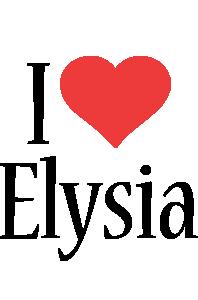 Elysia i-love logo