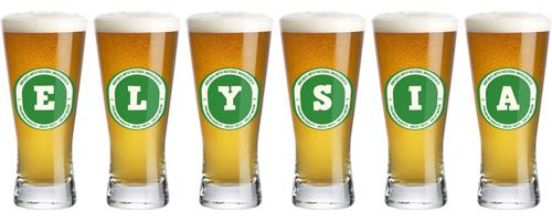 Elysia lager logo