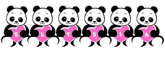 Elysia love-panda logo