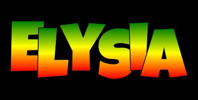 Elysia mango logo