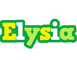 Elysia soccer logo